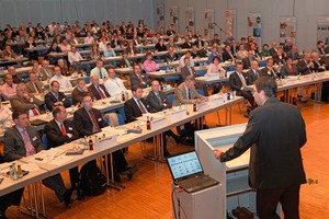 The building materials recycling conference was well attended<br />