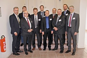 2  The speakers at last year's Conference: Institutsdirektor / Institute Director Prof. Dr. Holger Lieberwirth, IAM; Christian Wilke, Kleemann GmbH; Jörg Arloth, ITI GmbH; Dr. Klaus Meltke, IAM; Dr. Jens Friedrich, IAM; Achim Glaser, Rolf Strohmaier Gmbh; Dr. Jens Löwe, SBM Mineral Processing GmbH; Dr. Rüdiger Heinrich, Haver & Boecker OHG; Kai Grosch, BHS-Sonthofen GmbH; Dr.-Ing. Falk Silbermann, thyssenkrupp Industrial Solutions AG