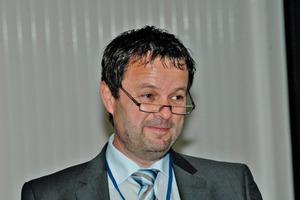 """<span class=""""bildunterschrift_hervorgehoben"""">11</span>Mag. Bernd Buchberger, Managing Director Corporate R&amp;D at RHI AG: """"Aktuelle Themen und künftige Herausforderungen in der Feuerfestindustrie/Current Issues and Future Challenges in Refractory Industry"""""""