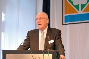 Michael Schulz, the President of BKS, welcomes the participants<br />