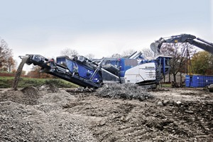 """<div class=""""bildtext"""">1&nbsp; Kleemann's MOBIREX MR&nbsp;110&nbsp;Z&nbsp;EVO2 mobile impact crusher works efficiently in both natural stone and recycling applications</div>"""