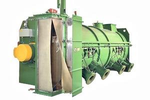 Industriemischer von Lödige # Lödige industrial mixer
