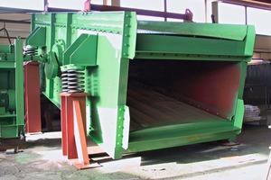 Victoria-Kreisschwing-Siebmaschine Type KS 1690x5000x2 ● Victoria- circular-vibration screening machine Type KS 1690x5000x2