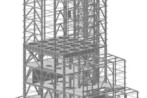 "<div class=""bildtext"">3D-Darstellung vom Rohbau zum fertigen Werk • 3D representation from the shell of the building to the finished factory</div>"