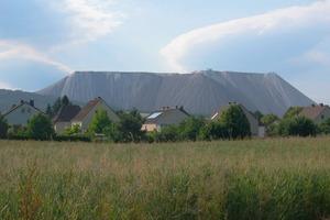 Monte Kali near Wintershall, a K+S KALI GmbH site<br />