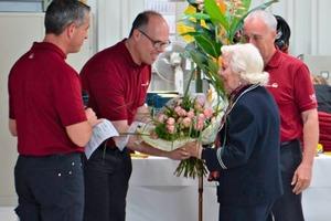 Blumen für Anne Marie Netter • Flowers for Anne Marie Netter<br />