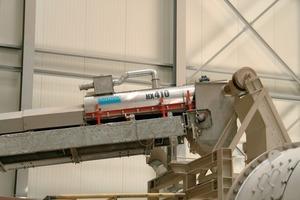 Sandvik's HX410 dust suppression system at the quartz plant in Duingen<br />
