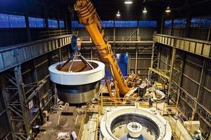 """<div class=""""bildtext"""">3Der MP2500 verarbeitet als Einzelmaschine große Steinmengen The MP2500 processes large volumes of rock as single machine</div>"""